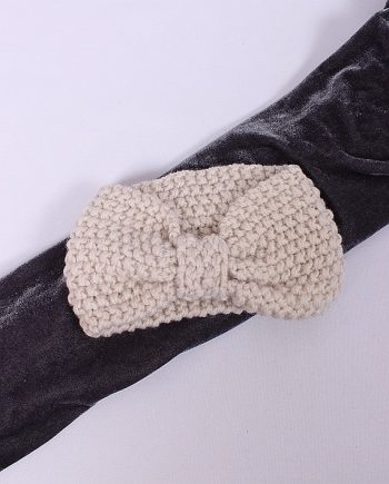 Headband knitted wit