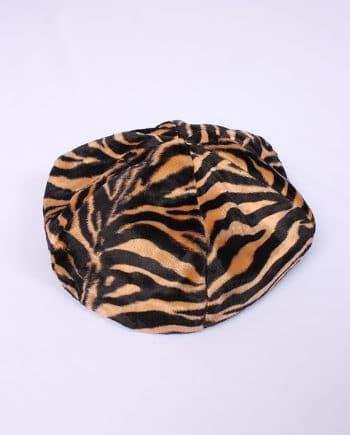 Franse baret met tijger pattern