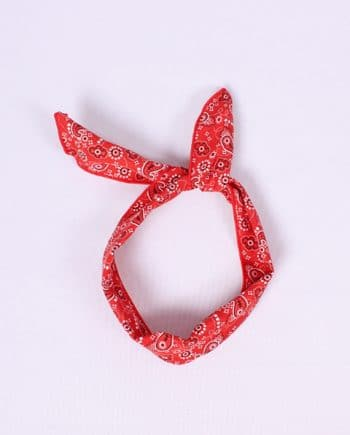 Headband gypsy rood