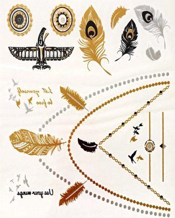 Waterdichte tattoo stickers ketting