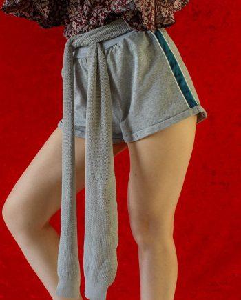 Grijs groen shorts
