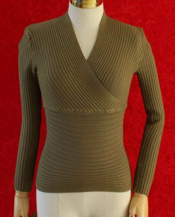 Basic long sleeves groen