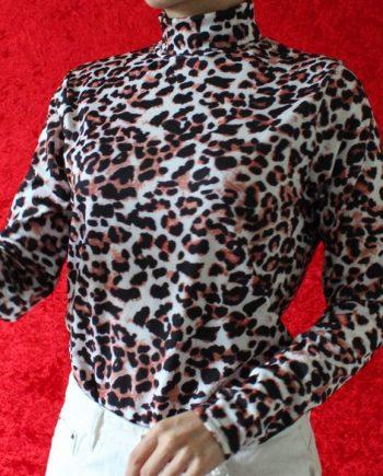 Luipaardprint top