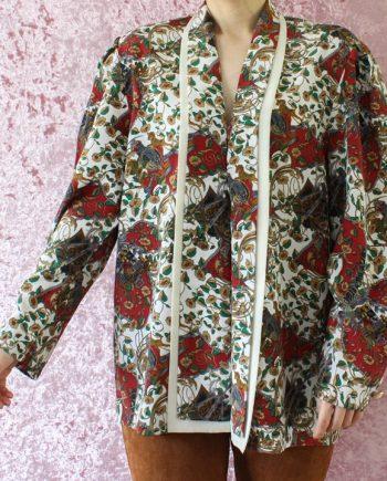 Vintage blouse cloak T690.1