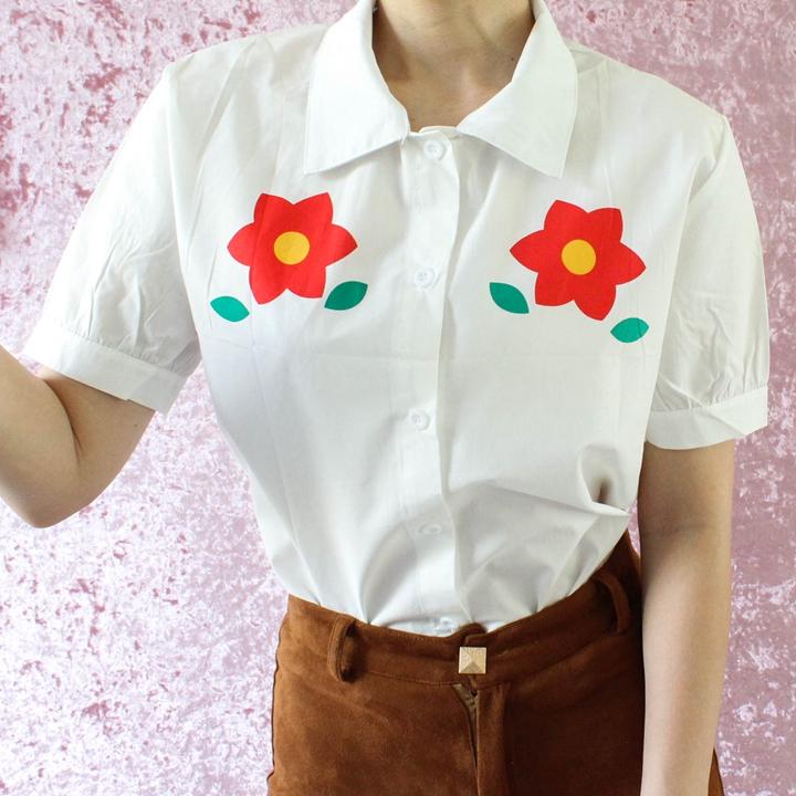 Bloem blouse N416