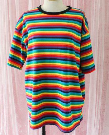 Regenboog t-shirt