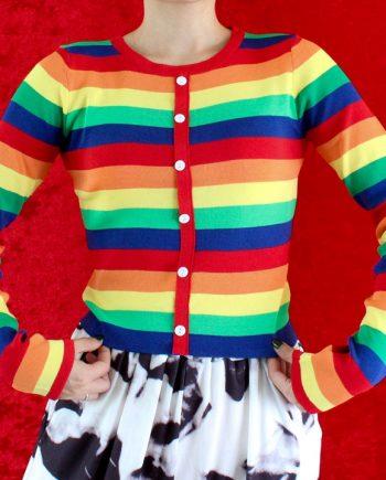 Rainbow top regenboog pullover