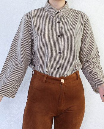 Vintage blouse stripe T679