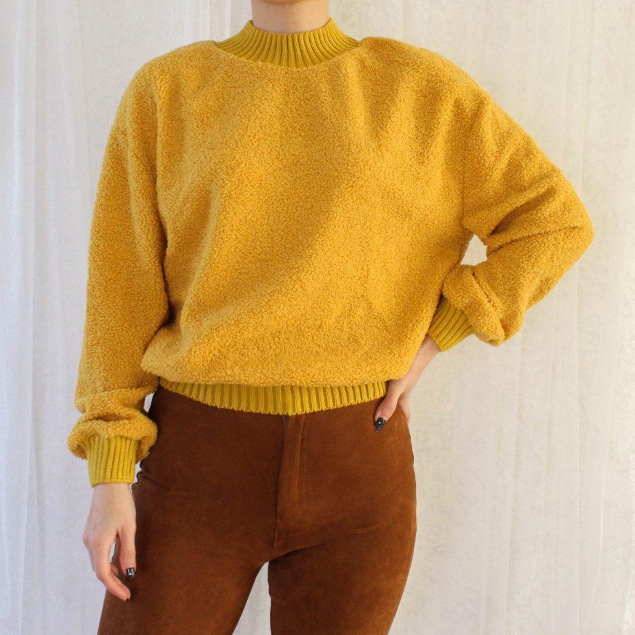 Geel trui