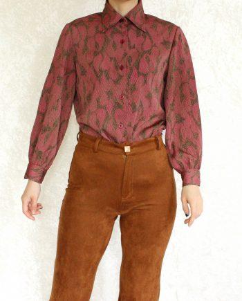 Vintage blouse gypsy roze T312