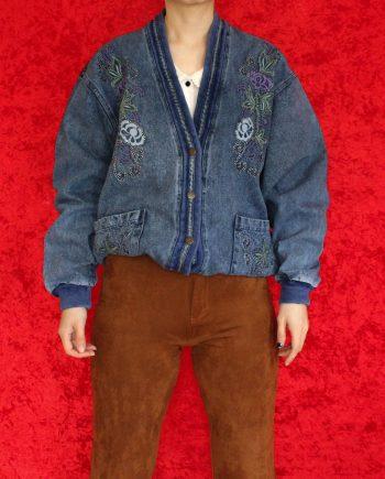 Vintage jas jeans T300