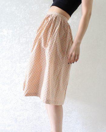 Vintage rok polka cotton T849